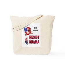 RESIST OBAMA Tote Bag