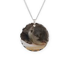 Sleeping Otter Necklace