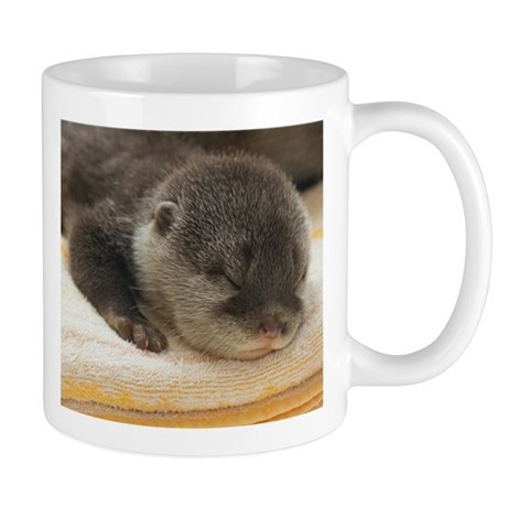 Sleeping Otter Mug