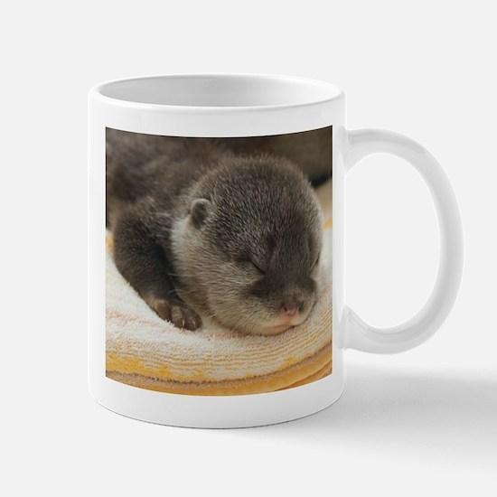 Sleeping Otter Mug