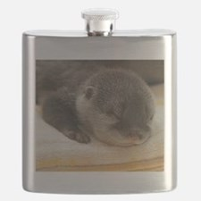 Sleeping Otter Flask