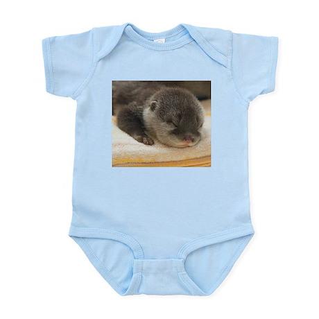 Sleeping Otter Infant Bodysuit