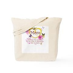 Mom Butterflies Tote Bag