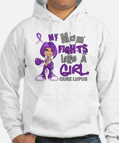 Licensed Fight Like a Girl 42.9 Hoodie