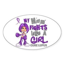 Licensed Fight Like a Girl 42.9 Lup Decal