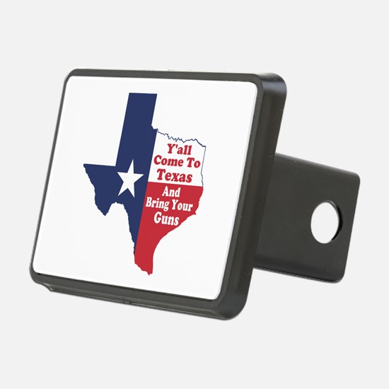 Yall Come to Texas Hitch Cover