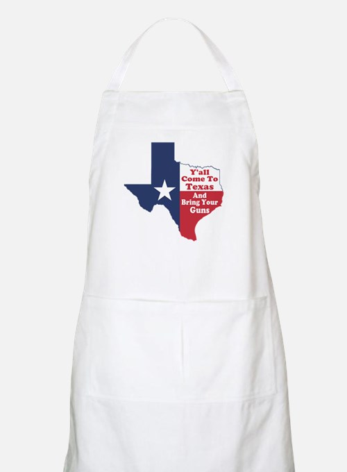 Yall Come to Texas Apron