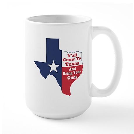 Yall Come to Texas Large Mug