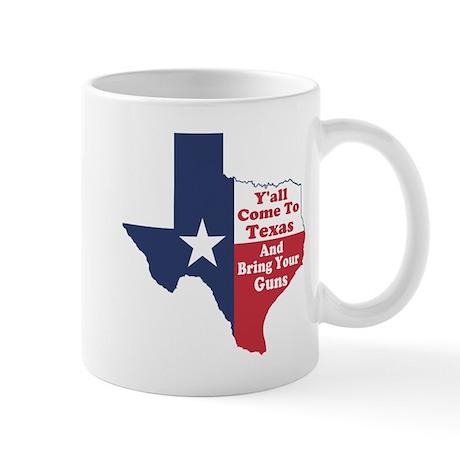 Yall Come to Texas Mug