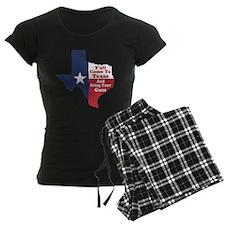 Yall Come to Texas Pajamas