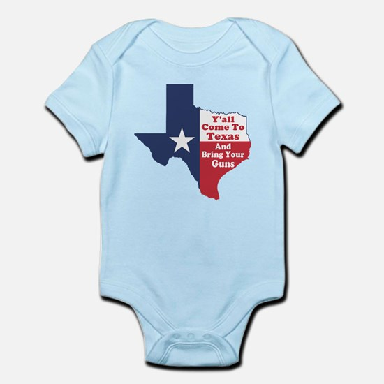Yall Come to Texas Infant Bodysuit