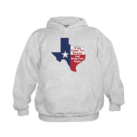 Yall Come to Texas Kids Hoodie