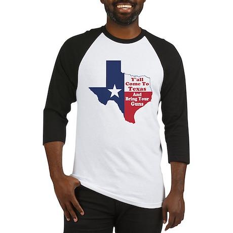 Yall Come to Texas Baseball Jersey