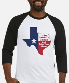 Yall Come to Texas Baseball Jersey