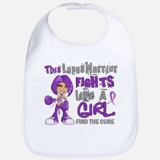 Licensed Fight Like a Girl 42.9 Lupus Bib