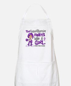 Licensed Fight Like a Girl 42.9 Lupus Apron