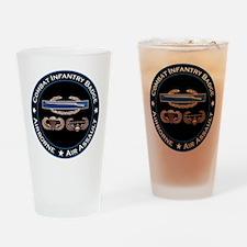 CIB Airborne Air Assault Drinking Glass