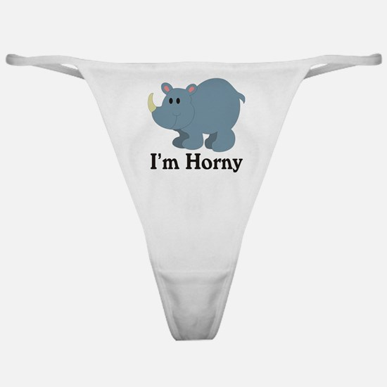 I'm Horny Classic Thong