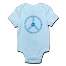 Peace / Paz / Frieden / Pax (blue) Infant Bodysuit