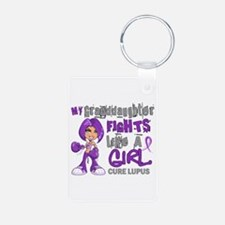 Fights Like a Girl 42.9 Lupus Keychains