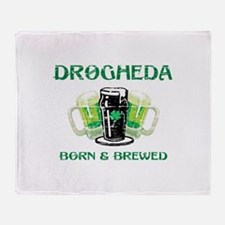 Drogheda Born and Brewed Throw Blanket