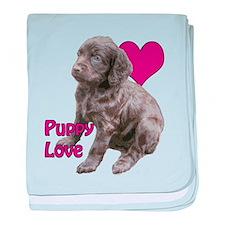 Boykin Puppy Love baby blanket