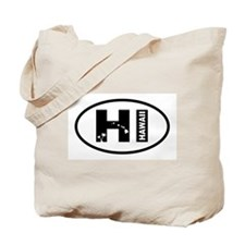 Hawaii Symbols Tote Bag