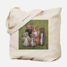 Woodhill Whiskers Mouse Family Tote Bag