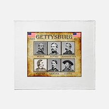 Gettysburg - Union Throw Blanket