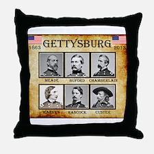 Gettysburg - Union Throw Pillow