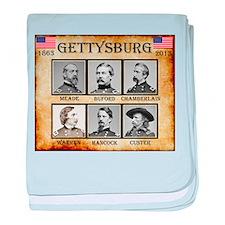 Gettysburg - Union baby blanket