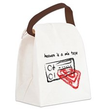 Heaven Is A Mix Tape Canvas Lunch Bag