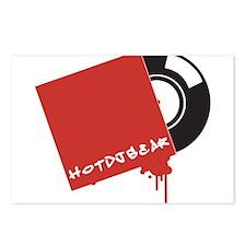 HOTDJGEAR Record Vinyl Postcards (Package of 8)