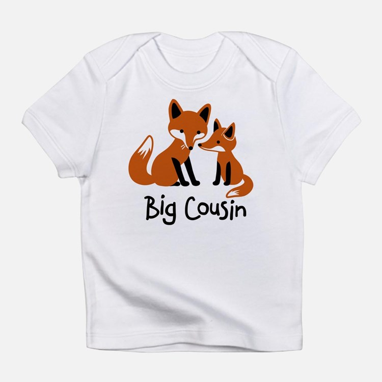 Big Cousin - Mod Fox Infant T-Shirt