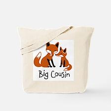 Big Cousin - Mod Fox Tote Bag