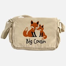 Big Cousin - Mod Fox Messenger Bag
