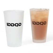 IDDQD Drinking Glass