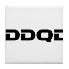 IDDQD Tile Coaster