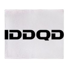IDDQD Throw Blanket