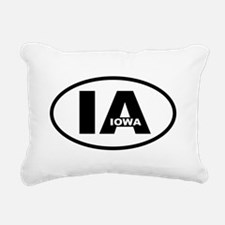 Iowa Rectangular Canvas Pillow