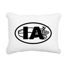 Iowa Corn Rectangular Canvas Pillow