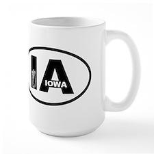 Iowa Inset Corn Mug