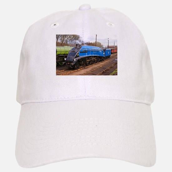 Sir Nigel Greasley - Steam Engine.jpg Baseball Baseball Cap