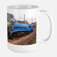 Sir Nigel Greasley - Steam Engine.jpg Large Mug