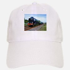 Flying Scotsman - Steam Train.jpg Baseball Baseball Cap