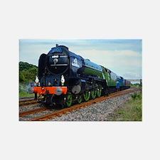 Flying Scotsman - Steam Train.jpg Rectangle Magnet