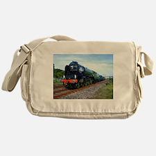 Flying Scotsman - Steam Train.jpg Messenger Bag