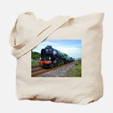 Flying Scotsman - Steam Train.jpg Tote Bag