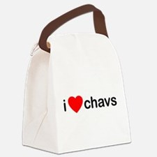 I Love Chavs Canvas Lunch Bag