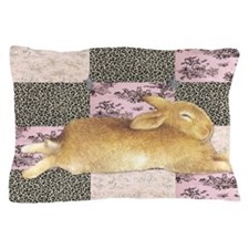 Sleepy Bunny Pillow Case